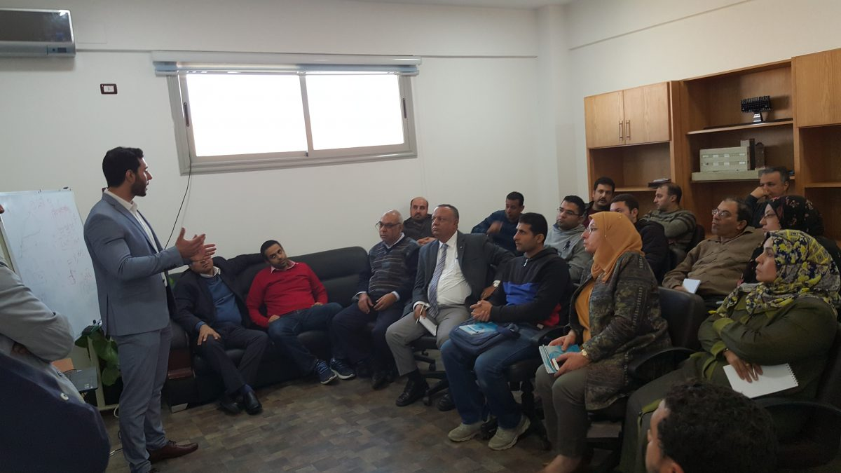 Egyptian Electrical holding company visit