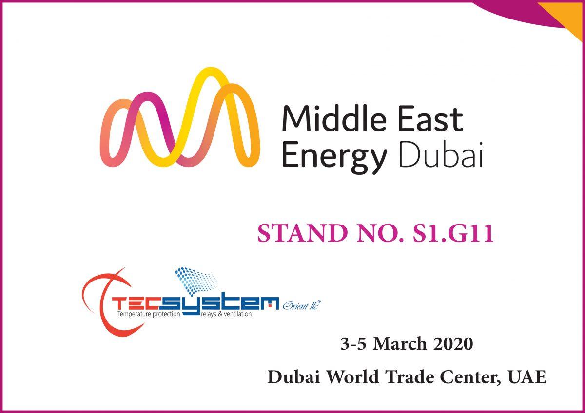 MEE 2020 -Dubai